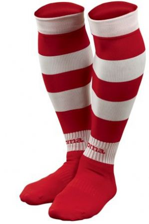 Ulster Hockey Zebra Socks Red/White